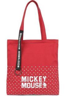 Bolsa Sacola Mickey Grande Bmk78501 - Feminino