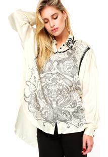 Camisa Manga Longa Forum Canutilhos Off White