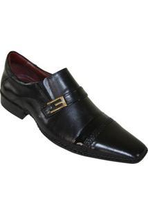 Sapato Social Gofer Premium - Masculino-Preto
