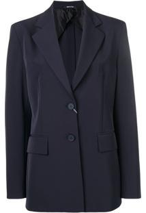 Maison Margiela Slim-Fit Blazer - Azul