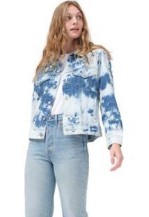Jaqueta Jeans Levis Trucker Ex-Boyfriend - 70137 - Feminino-Jeans Claro
