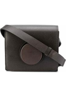Lemaire Camera Shoulder Bag - Marrom