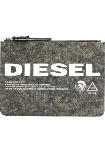 Diesel Carteira Jeans 'Lusina' - Green