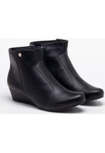 Ankle Boot Anabela Firezzi Preta 34