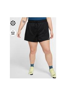 Plus Size - Shorts Nike Dri-Fit Feminino