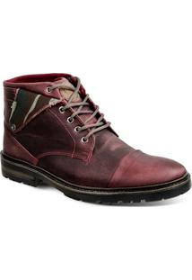 Bota Dress Boot Masculina Sandro Moscoloni Willow Vinho