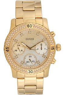 Relógio Guess 92595Lpgsda5 Dourado