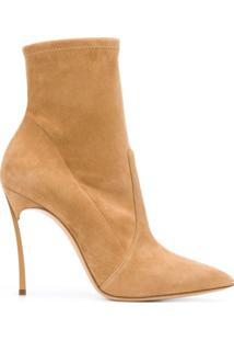 Casadei Ankle Boot Blade - Neutro