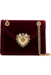 Dolce & Gabbana Bolsa Tiracolo Devotion - Vermelho