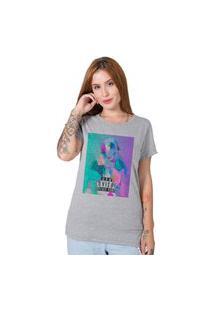 Camiseta Stoned Aquarelle Cinza