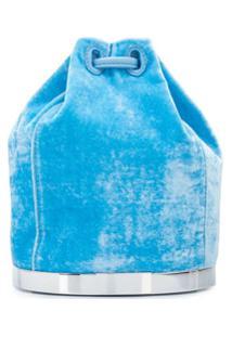 Tyler Ellis Bolsa De Veludo - Azul