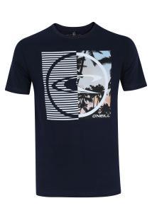 Camiseta O'Neill Dynamo - Masculina - Azul Escuro