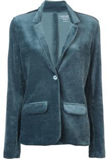 Majestic Filatures Blazer Com Botões - Azul