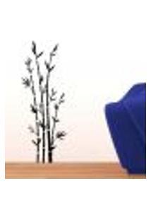 Adesivo De Parede Floral Modelo 16 (Bambu) - P 80X30Cm