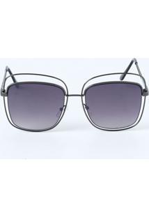db9e6ecc2ad94 ... Óculos Feminino De Sol Quadrado Marisa