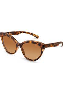 Óculos De Sol Gatinho Em Acetato Tartaruga By Vivara