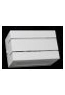 Arandela Retangular Ciclope Branca Area Interna - Htar/Ciclope/15