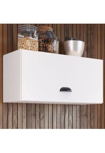 Armário Aéreo Cozinha 61,4 Cm 1 Porta Basculante Mia6001 Branco - Art In Móveis