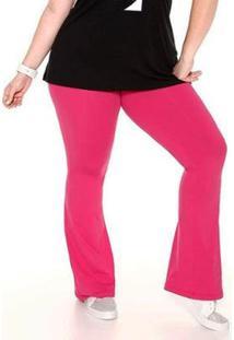 Calça Flare Plus Size Trinys - Feminino
