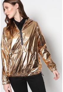Jaqueta Sue Metalizada - Douradale Lis Blanc