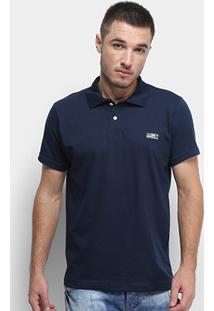 Camisa Polo Fatal Tag Masculina - Masculino-Azul Escuro