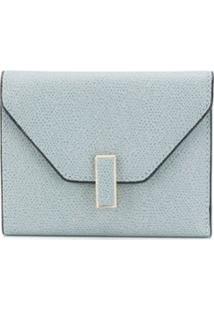Valextra Carteira Envelope Iside De Couro - Azul