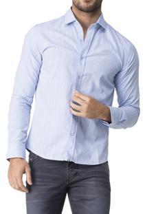 Camisa R.Mendes Botonê Azul