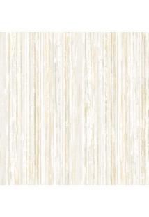 Papel De Parede Castelani Listrado- Off White & Amarelo Edantex