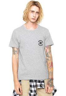 Camiseta Dc Shoes Enigme Cinza