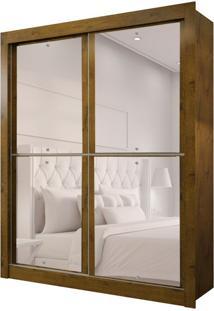 Guarda-Roupa Solteiro Com Espelho Milan New Ii 2 Pt 2 Gv Canela