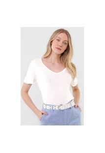 Camiseta Lez A Lez Lisa Off-White