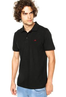 Camisa Polo Rusty Basic Preta