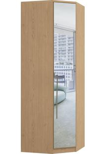 Módulo De Canto 1 Porta C/ Espelho Elegance 4205A-Móveis Castro - Angelin