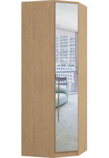 Módulo De Canto 1 Porta C/ Espelho Obliquo Elegance 4205A-Móveis Castro - Angelin