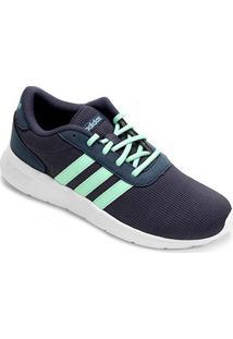 Tênis Adidas Lite Racer W Feminino - Feminino-Marinho+Verde