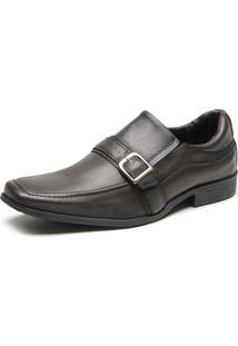 Sapato Social Fiveblu Silver Marrom
