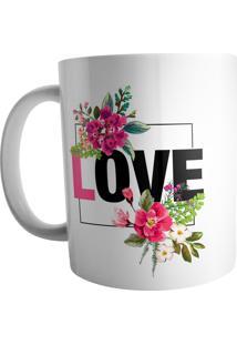 Caneca Live Love Branco