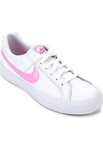 Tênis Nike Court Royale Feminino - Feminino-Branco+Rosa