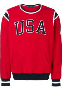 Polo Ralph Lauren Vestido Texturizado Usa - Vermelho