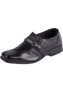 Sapato Fox Shoes Social Masculino - Masculino-Preto