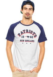 Camiseta New Era New England Patriots Nf Branca