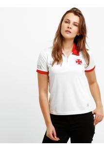 Camisa Polo Vasco C/Zíper 01 Feminina - Feminino