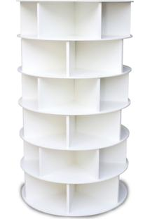Sapateira Giratória Multidecor 1,25M Branca - Kanui