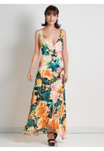 33517f622d0 ... Vestido Transpasse Floral Farm