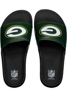 Chinelo Green Bay Packers Slip On Colors - Nfl - Masculino - Masculino
