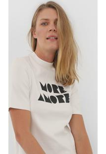 Blusa Maria Filó More Amore Off-White