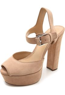 Sandália Michael Kors Womens Leather Nude