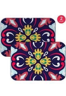 Jogo Americano Love Decor Mandala Colorful Colorido