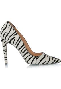 Luiza Barcelos Scarpin Em Pelo Zebra