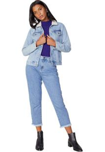 Calça Jeans Boyfriend Puído Cós